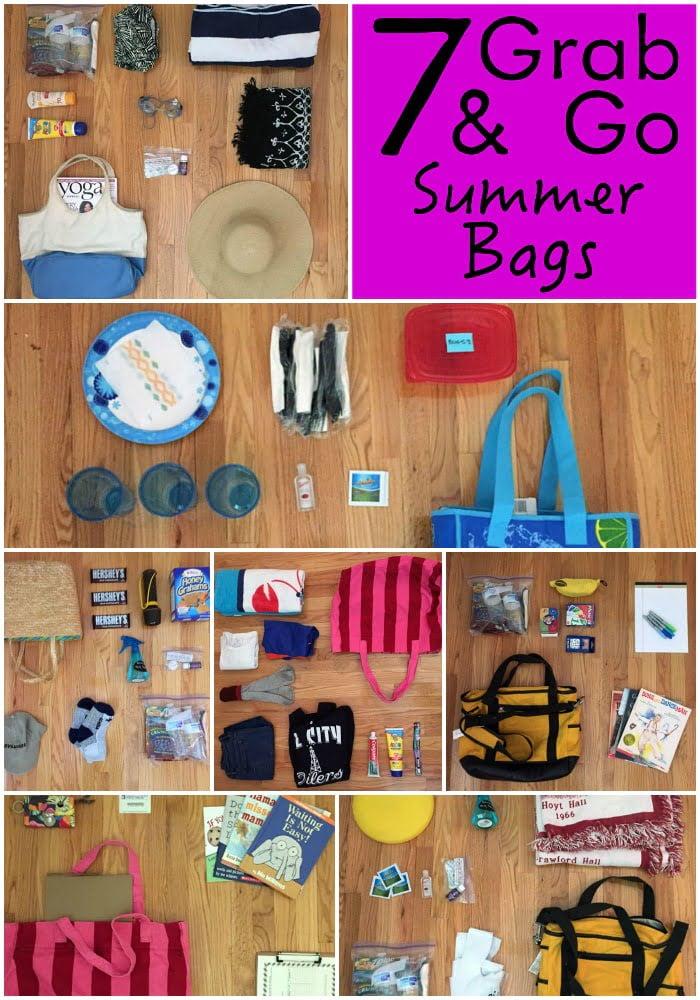 Bolsas de verano Grab and Go - ¡Ahorre tiempo y dinero!
