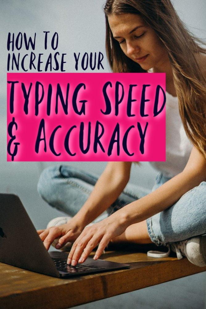 Cómo aumentar su velocidad y precisión de escritura