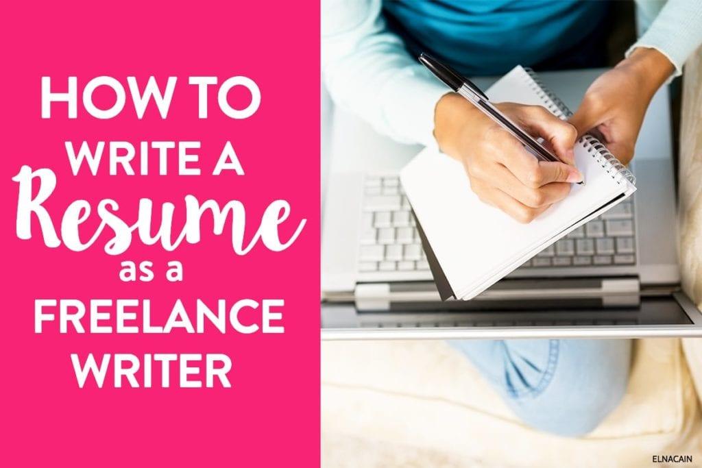 Cómo escribir un currículum como nuevo escritor independiente