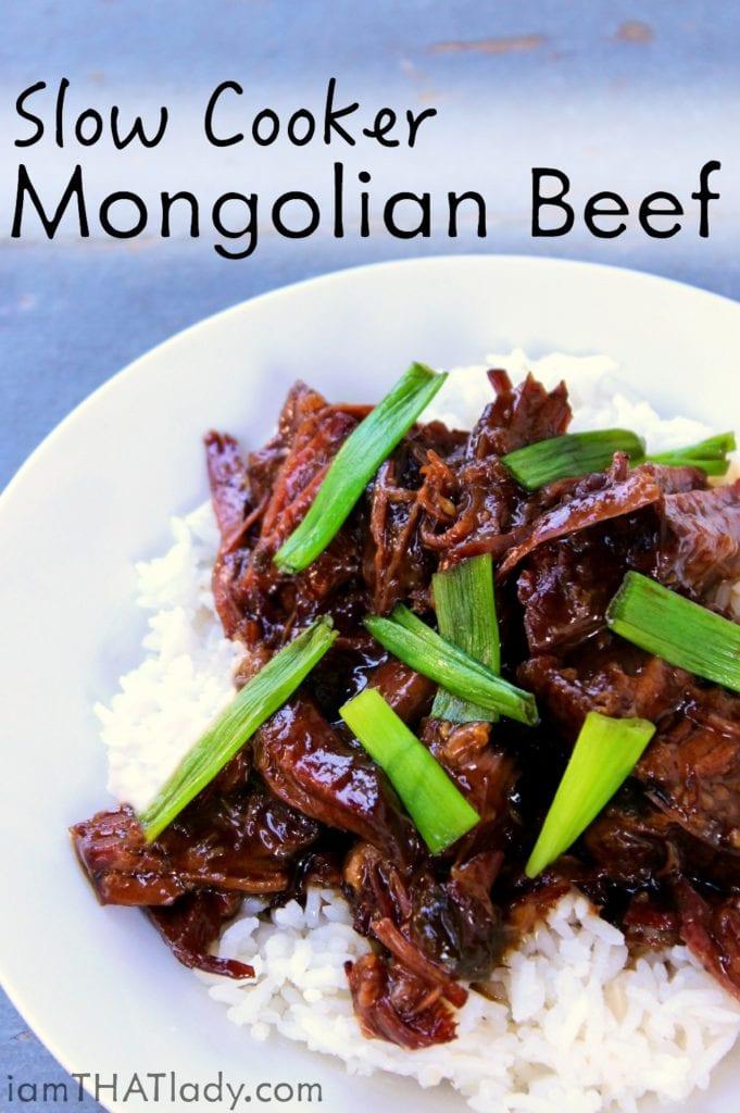 Carne de res mongol de cocción lenta - Lauren Greutman