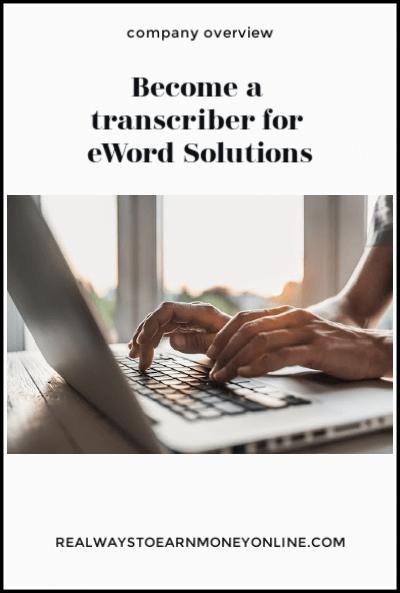 eWord Solutions regularmente tiene vacantes en los EE. UU. para transcriptores en el hogar. Esta publicación comparte lo que puede ganar y cómo comenzar.