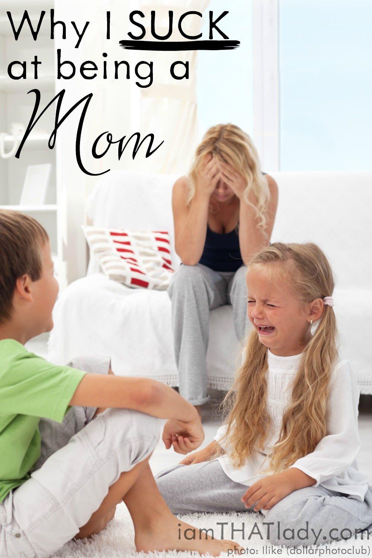 ¿Por qué apesta ser mamá? Pinterest