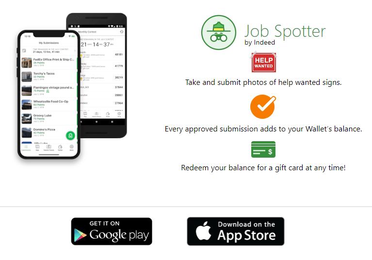 Revisión de la aplicación Job Spotter: pague por tomar fotografías