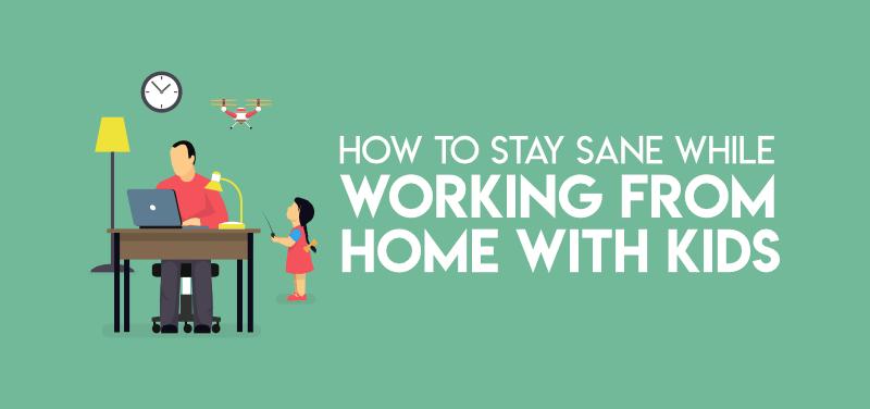 Trabajando desde casa con niños: más de 10 consejos de los padres