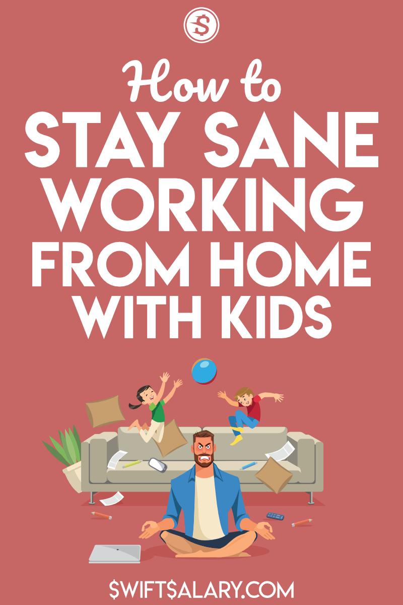Trabajando desde casa con niños