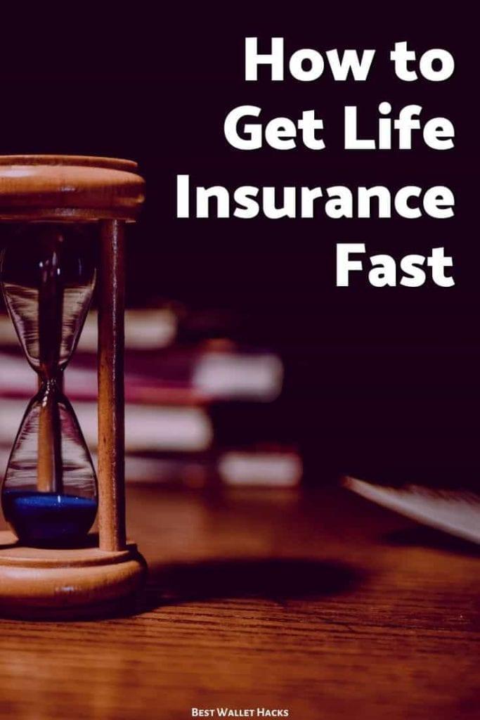 ¿Cuál es la forma más rápida de obtener un seguro de vida?