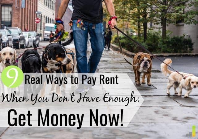 ¿Necesita dinero para alquilar? 9 maneras de ganar dinero ahora