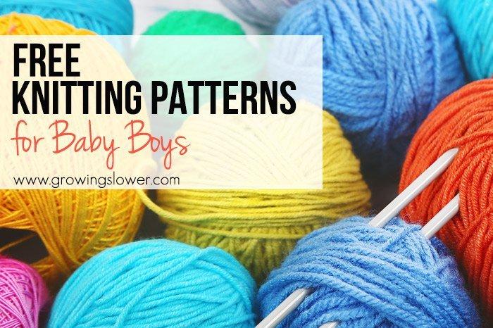 12 patrones gratuitos de tejido de punto para bebés