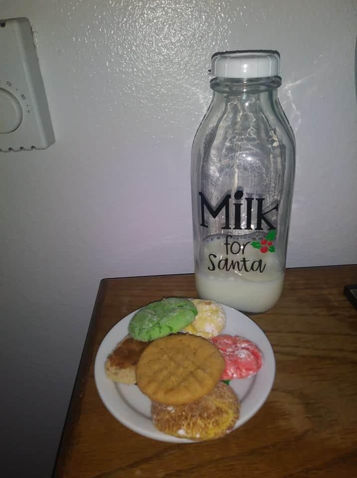 Nochebuena película familia tradición lucha hoy fuerza mañana leche y galletas para santa