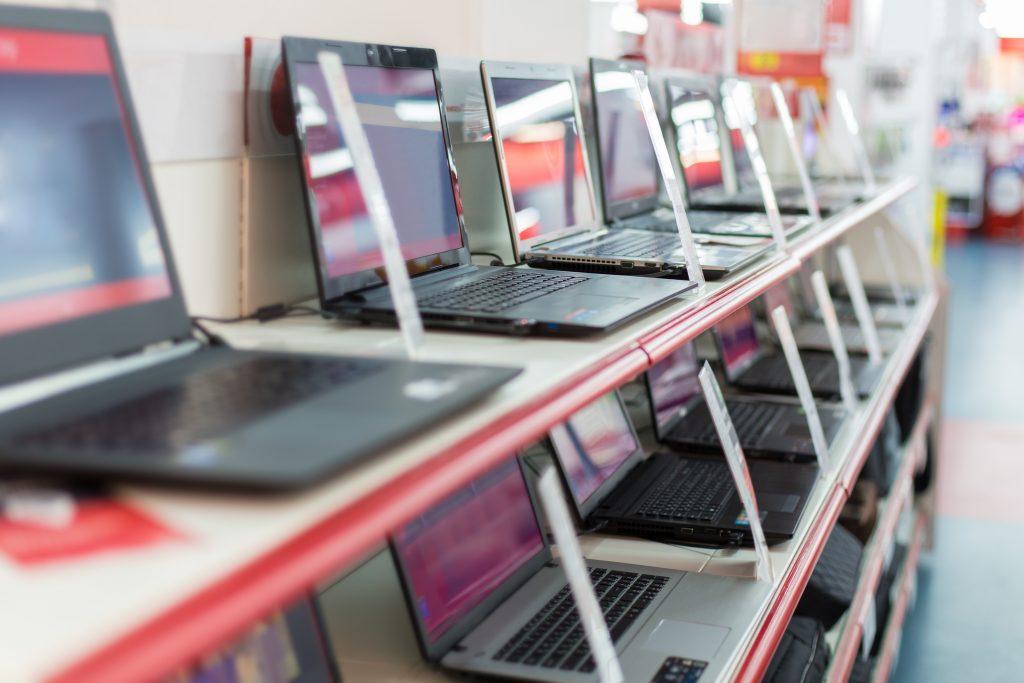 venta de laptops en tienda