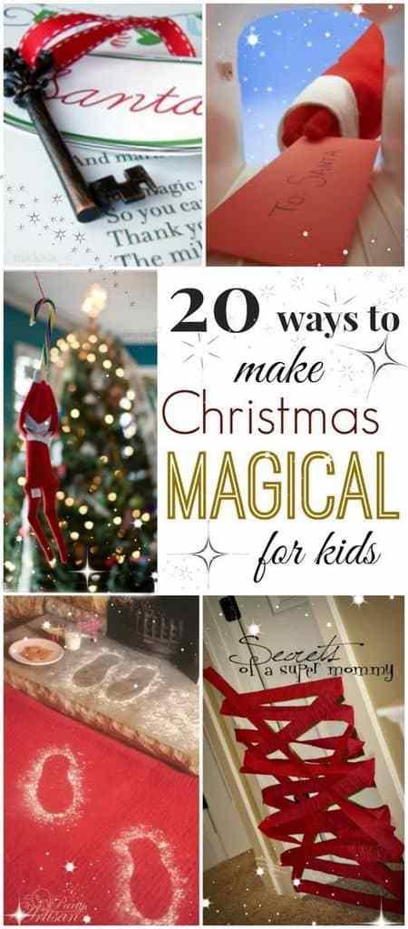 Haga Navidad mágica para niños en growingajeweledrose.com