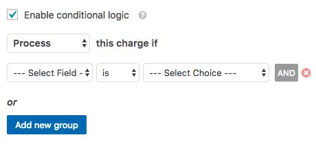 Configuración de lógica condicional en el complemento de PayPal de WPForms