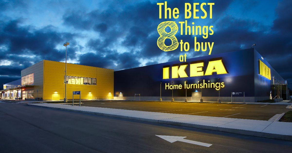 ¿Te encanta IKEA? ¿Pero abrumado por lo que podrían ser las buenas ofertas? ¡Aquí están las 8 mejores cosas para comprar en IKEA!
