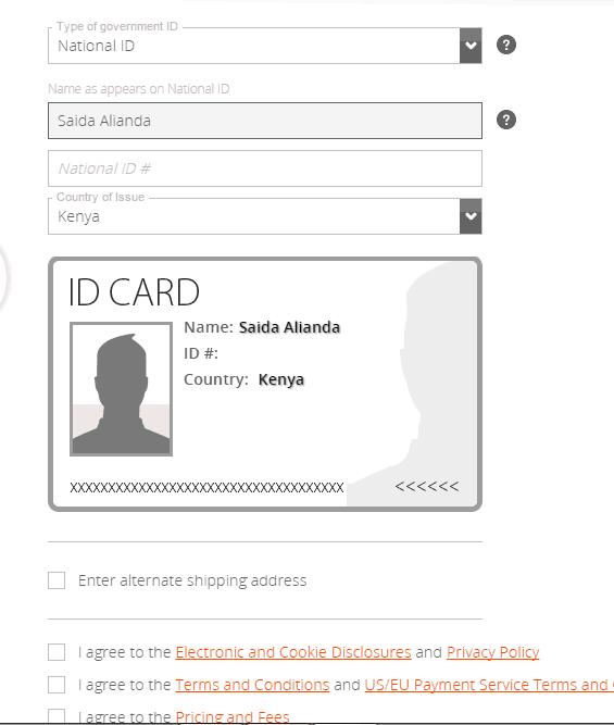verificar cuenta de payoneer