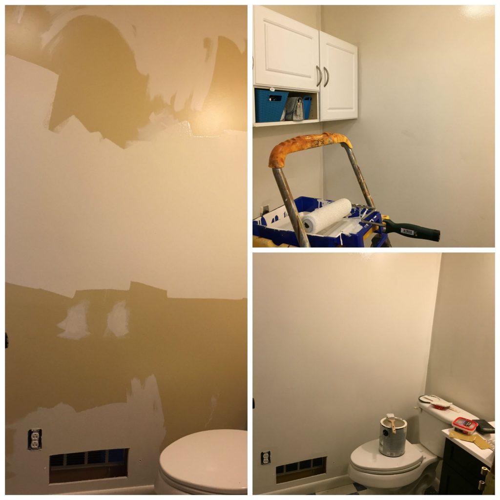piso pintado