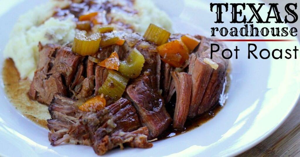 Crockpot Texas Roadhouse Pot Roast