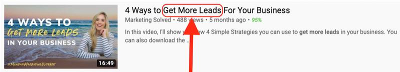 cómo obtener más vistas en youtube se centran en el resultado
