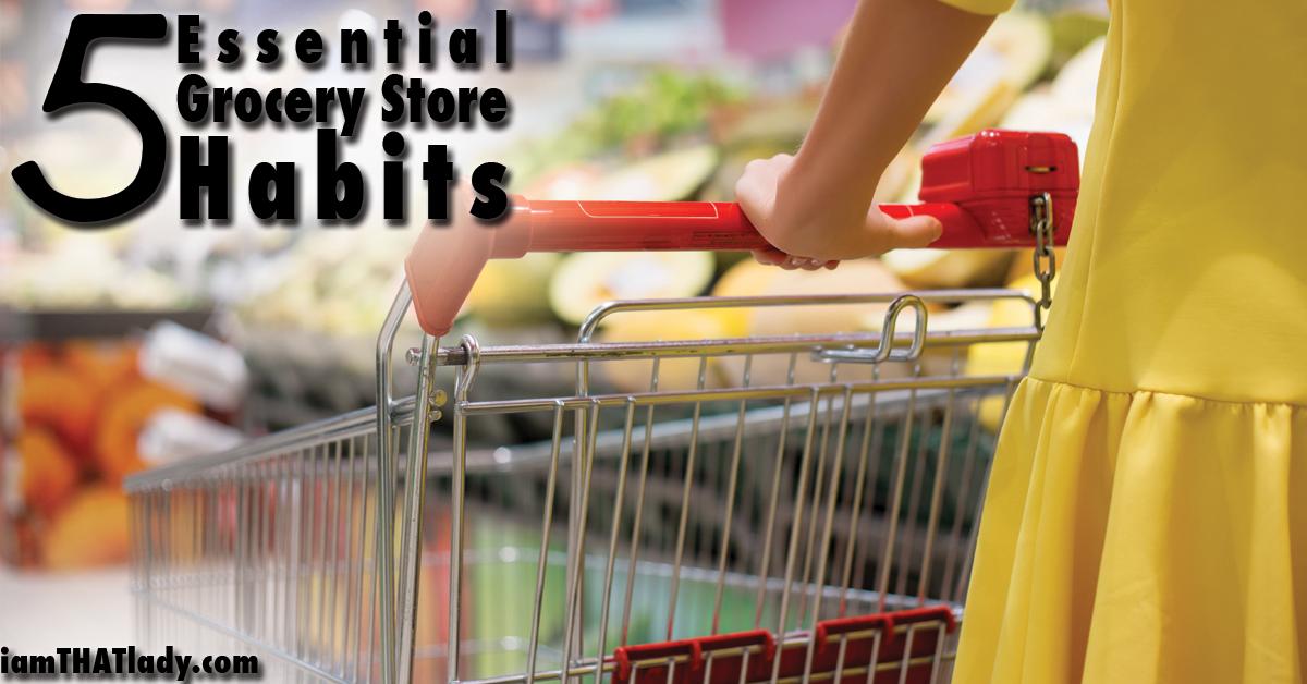 5 hábitos esenciales de la tienda de comestibles FB