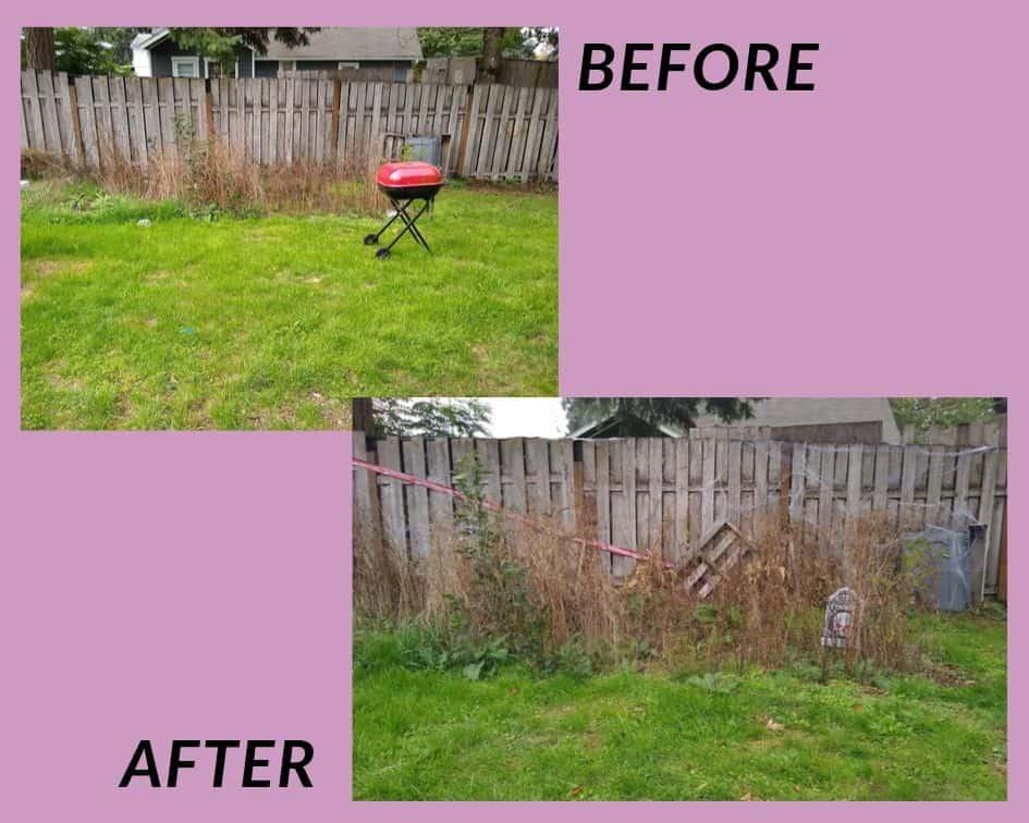 ubicación antes y después de la sesión de fotos zombie