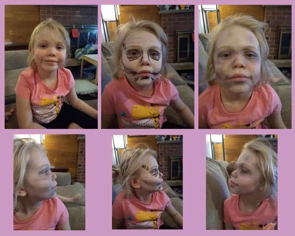 Kid Zombie Makeup