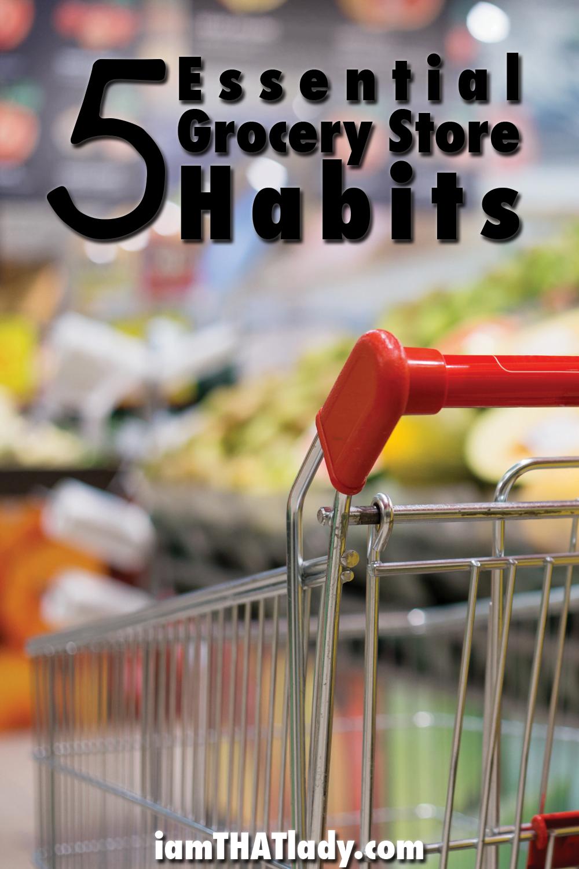 ¡Está gastando demasiado dinero en el supermercado si no tiene estos 5 hábitos!