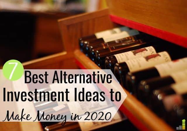 Las opciones de inversión alternativas son una excelente manera de diversificar su inversión. Aquí hay 7 alternativas principales del mercado de valores para perseguir el crecimiento de su riqueza.