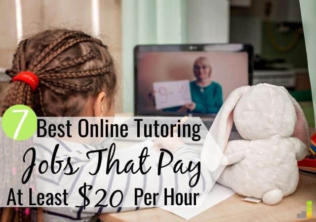 7 mejores trabajos de tutoría en línea para ganar dinero