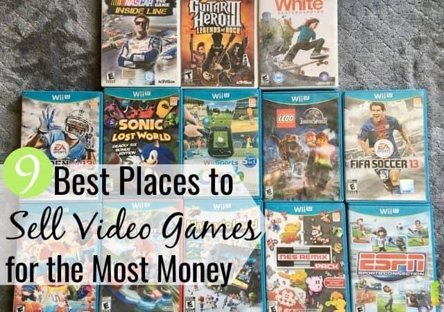 Puedes ganar dinero vendiendo videojuegos y despejar tu casa. Aquí están los 9 mejores lugares para vender videojuegos en efectivo en línea o localmente por el mejor precio.