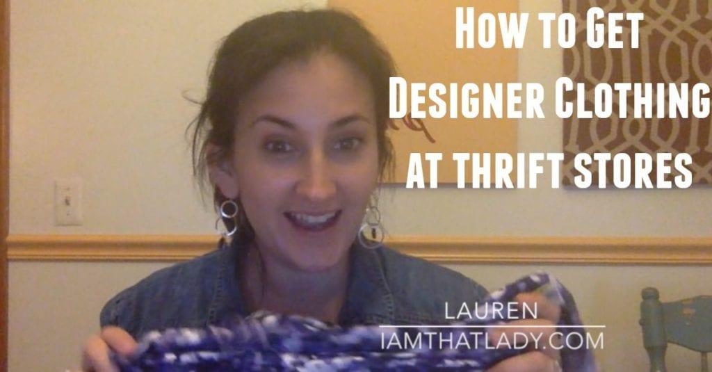 Cómo encontrar ropa de diseñador en tiendas de segunda mano