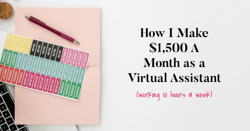 Cómo gano $ 1,500 al mes como asistente virtual de podcast