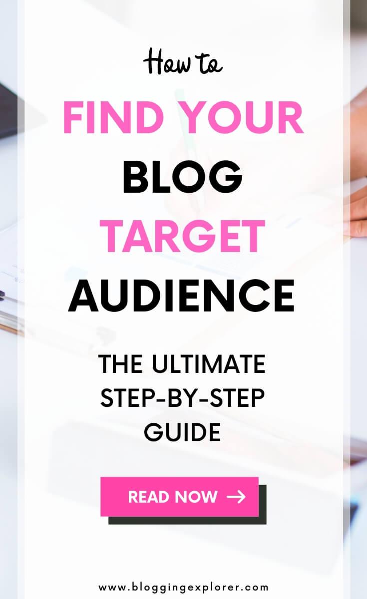 Guía del público objetivo del blog: cómo encontrar un nicho de blog rentable y un tema para ganar dinero blogueando