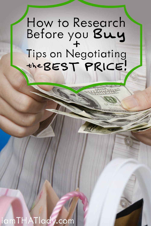 ¡Deja de tirar dinero! Aprenda a investigar antes de comprar + ¡Consejos para negociar el MEJOR PRECIO!