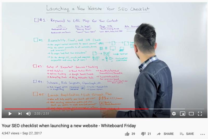 cómo obtener más vistas en la pizarra de YouTube el viernes