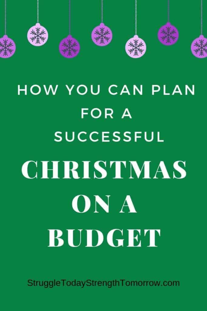 Cómo puedes planificar una Navidad exitosa con un presupuesto ajustado. ¡Haga clic para ver los mejores consejos y trucos para ahorrar dinero y ganar dinero rápido antes de que lleguen las principales vacaciones del año! #frugalfamily #sidehustle #makeextramoney #savingmoney #christmas #christmasbudget #budget