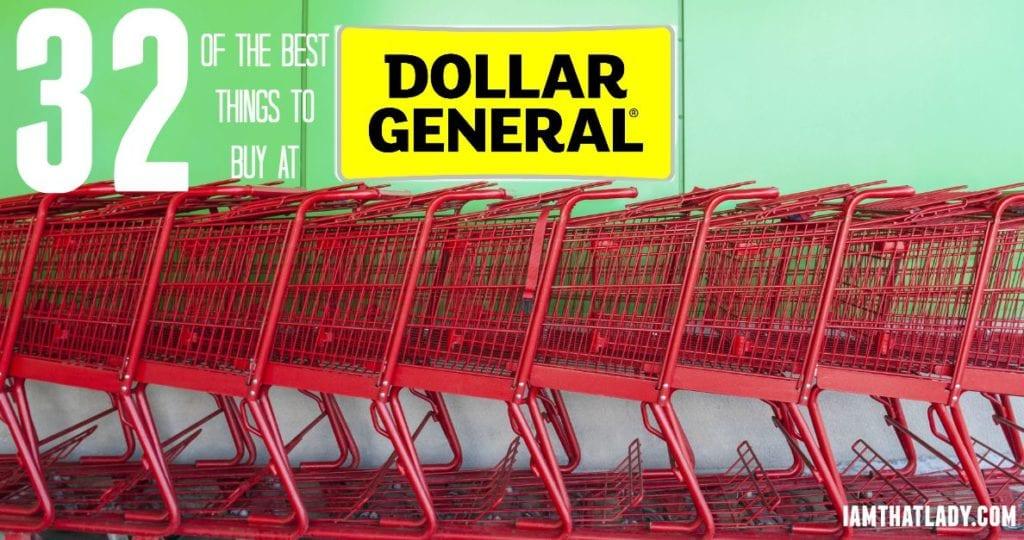 Las 32 mejores cosas para comprar en Dollar General: ¿qué es una estafa o un buen negocio?