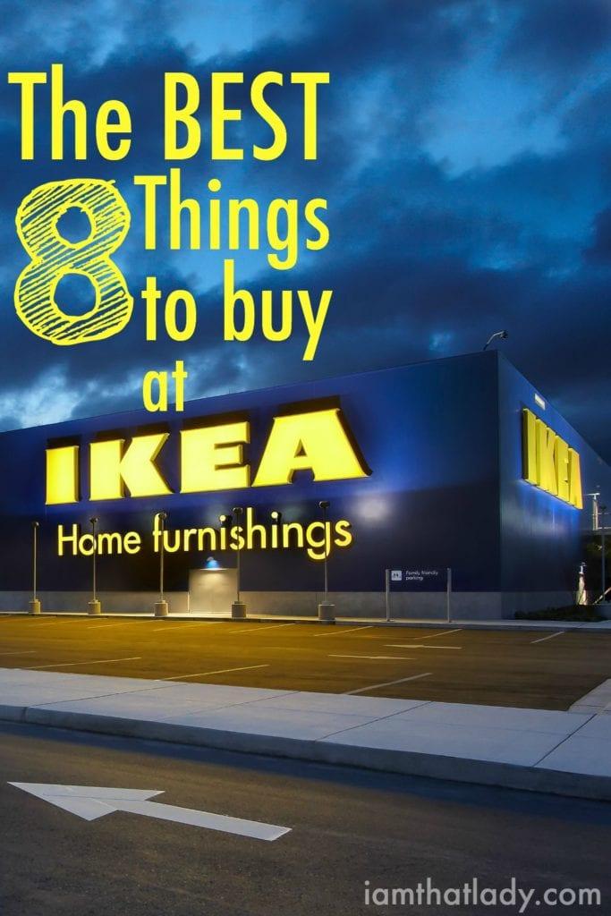 Las mejores cosas para comprar en IKEA