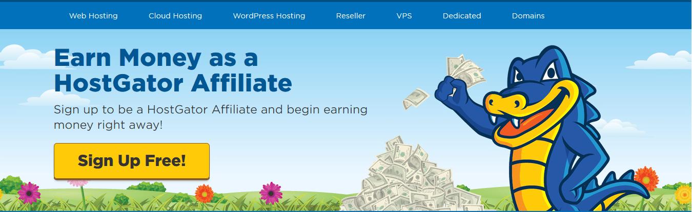 Programa de afiliados de HostGator
