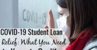 Programas de alivio de préstamos estudiantiles COVID-19: ¿Quién califica para recibir ayuda?