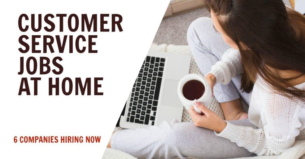 Trabajos de servicio al cliente desde casa (contratación de 6 empresas)