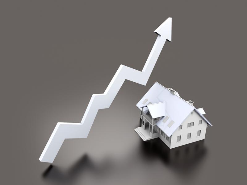El valor de mercado puede fluctuar, lo que a su vez cambia la cantidad de capital que podría tener en su hogar.
