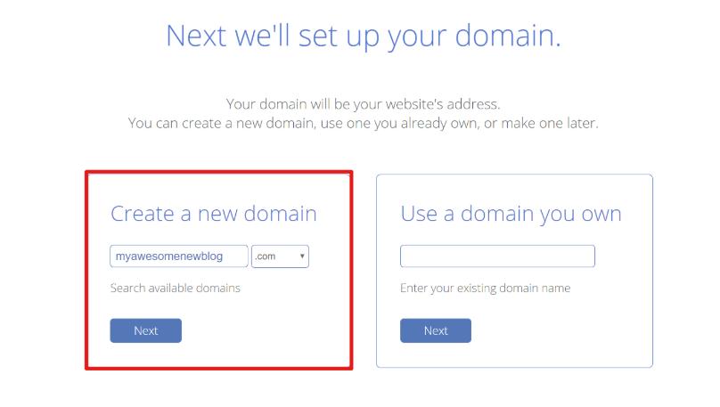 Ingresar dominio personalizado