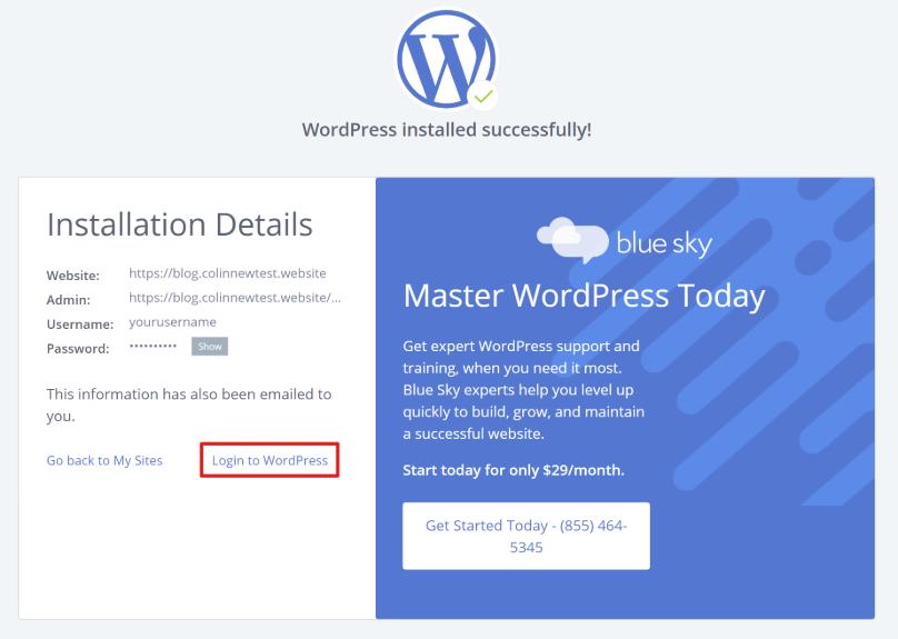 Los detalles de tu blog de WordPress