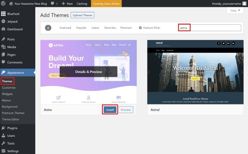 Cómo instalar un tema de WordPress en tu blog