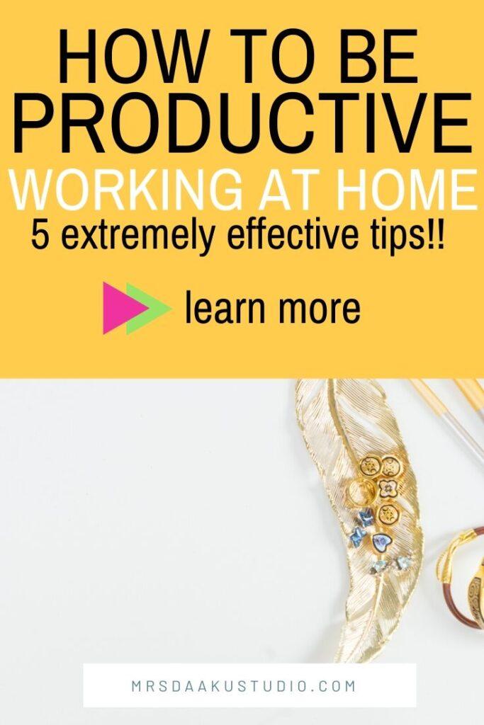 cómo trabajar desde casa consejos
