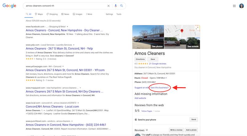 cómo crear y verificar su cuenta de google my business propia de este negocio