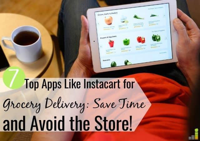 7 mejores alternativas a Instacart para la entrega de comestibles