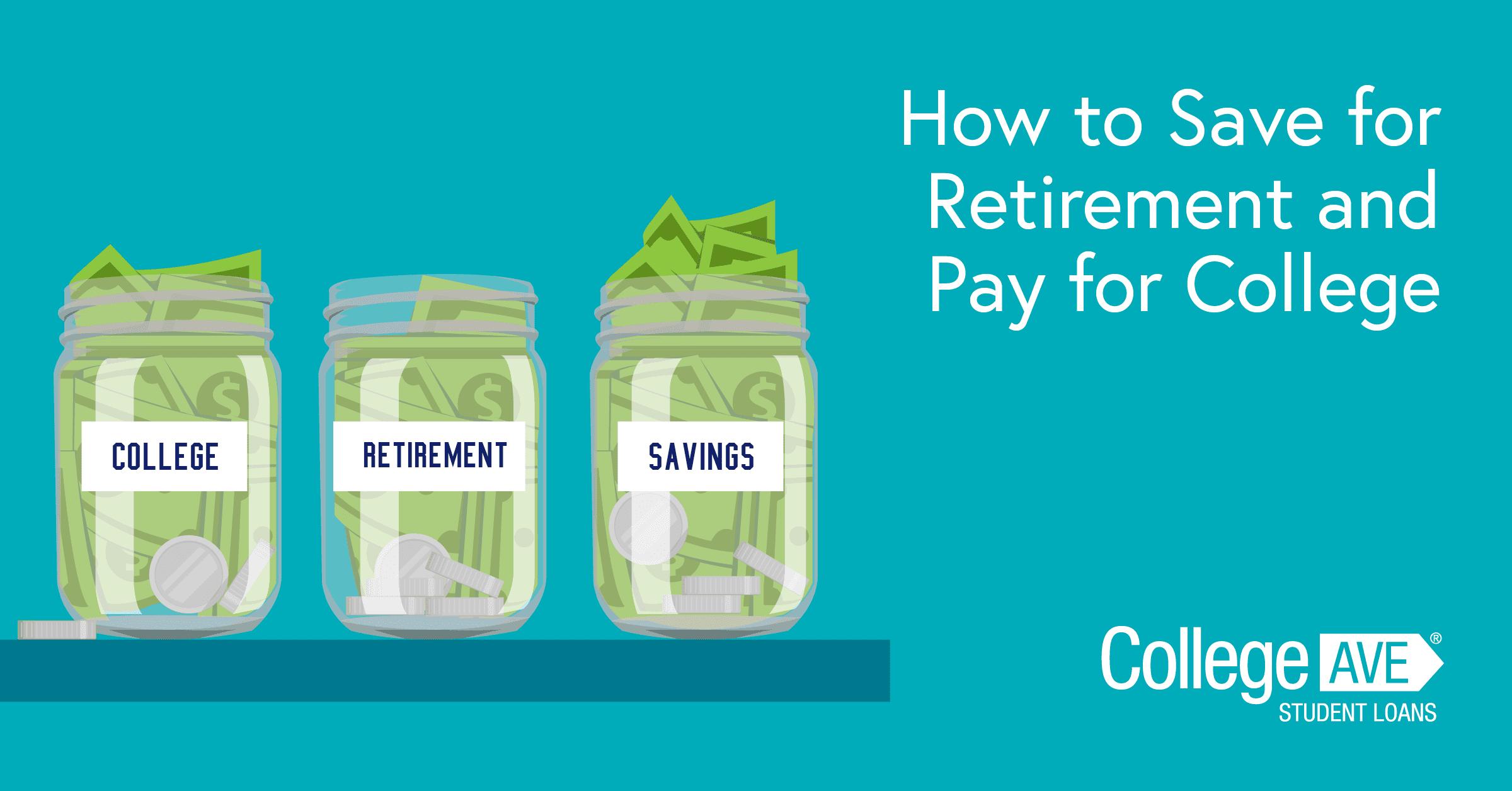 Cómo ahorrar para la jubilación y pagar la universidad
