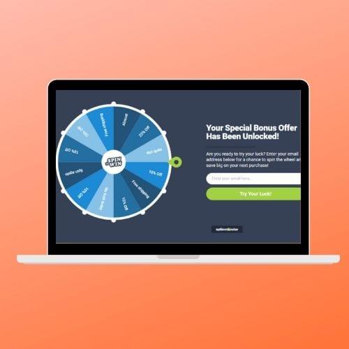 Cómo crear campañas de Spin to Win en WooCommerce y Shopify - 5 pasos simples - ThinkMaverick