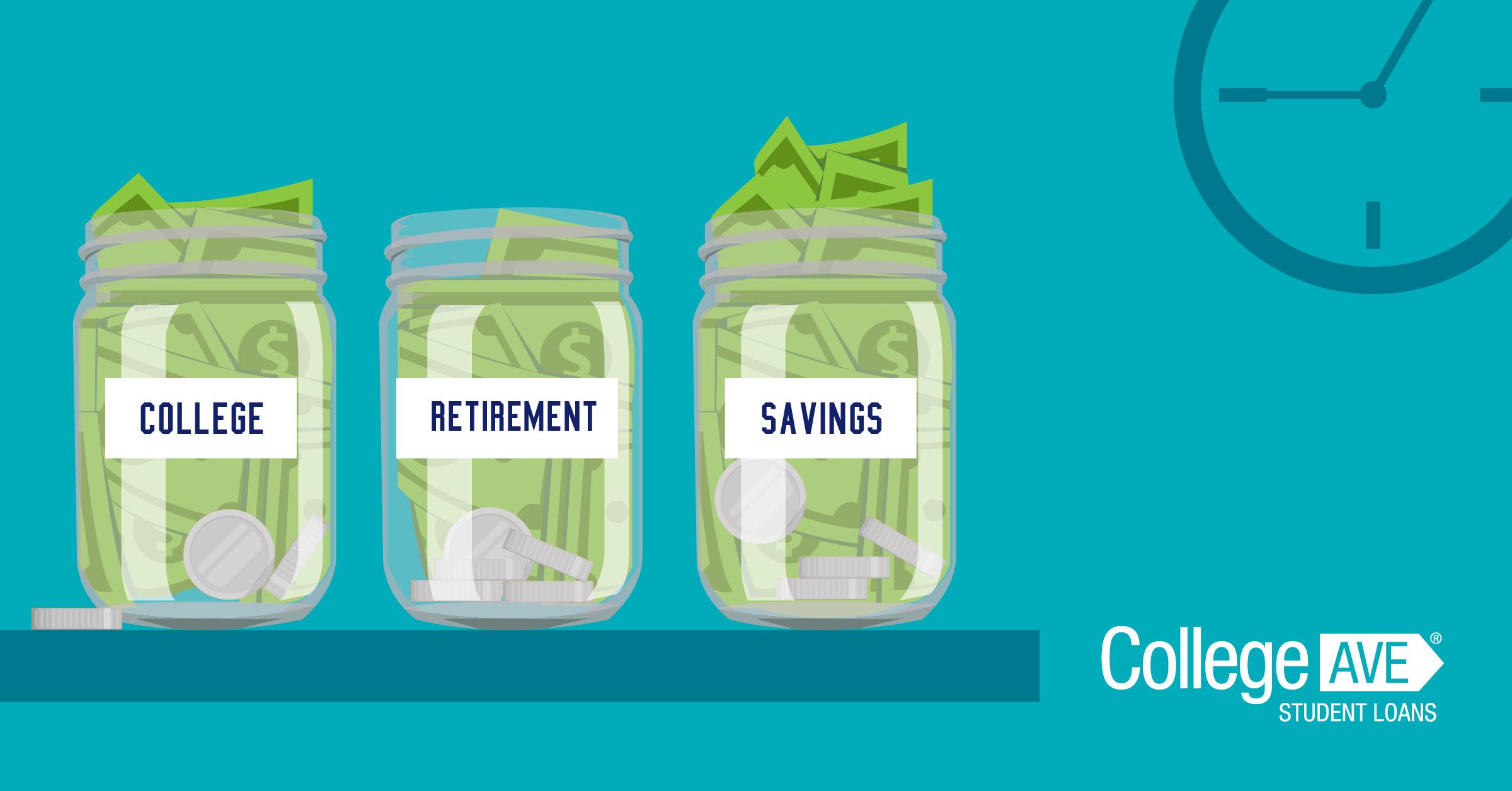 Cómo ahorrar para la jubilación y pagar la universidad al mismo tiempo