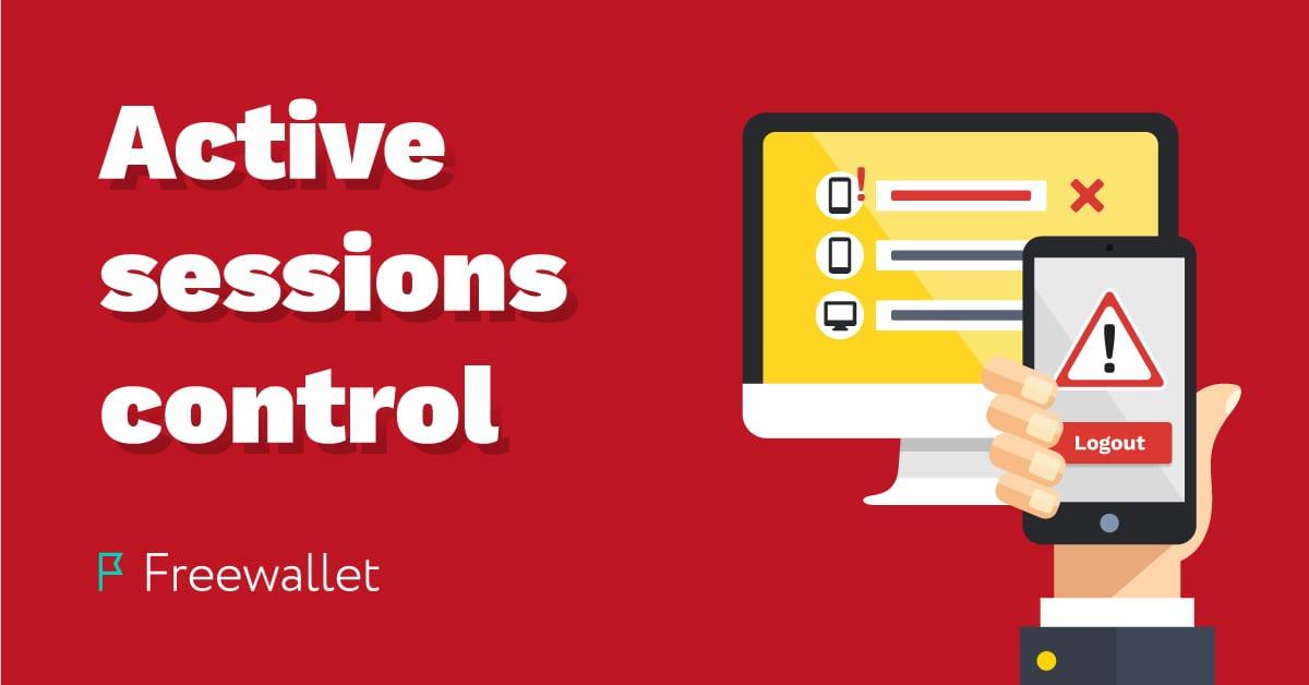Cómo configurar el control de sesiones activas para su billetera de criptomonedas